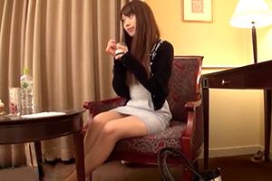 【素人】タイトワンピからスラッと伸びる美脚がそそる美女とホテルでハメ撮り