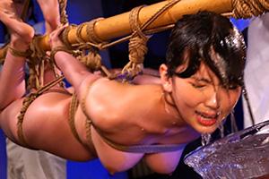 波多野結衣 緊縛女体遊戯。美人キャスターを拉致。そして…の画像です