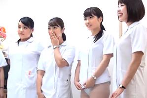 働く巨乳看護師さんたちに突撃交渉!の画像です