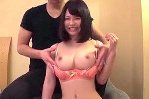【変態すぎるド素人娘】溜まった性欲を発散する20歳のロリ巨乳妻!