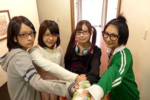 阿部乃みく 真野ゆりあ あべみかこ 桜木郁 毎日子作りセックスする将来漫画家志望のメガネ女子たちの画像です