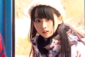 【マジックミラー号】ゲレンデ美少女が素股マッサージ!可愛すぎだろ…