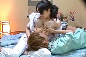 【盗撮】旅館の整体サービスで口説いた美人妻が赤ちゃんプレイでご奉仕www