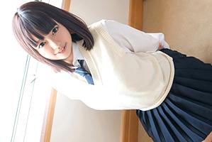 【円光】バリバリっとボタンが弾け飛びそうなムッチリ巨乳女子校生