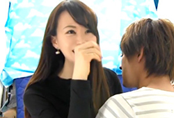 (キャッチ)これぞ本物シロウトのリアクション☆素股ざーめん発射☆