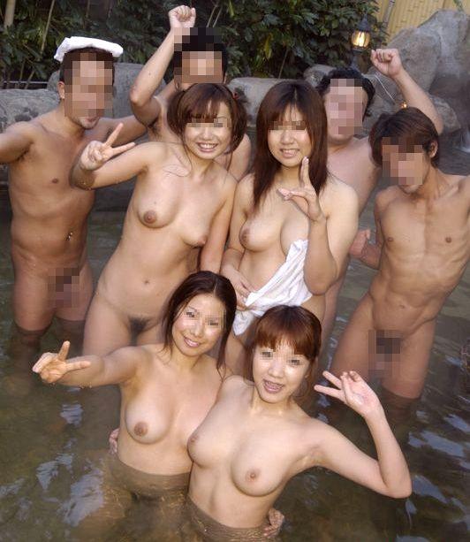 日本で温泉乱交サークルが激増中その2
