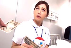 【素人】現役ナースが挑戦!制限時間内に5人射精させたら100万円!