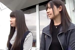 【マジックミラー号】北関東素人ナンパで宇都宮っ娘2人組をゲット!