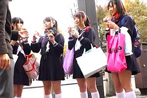 修学旅行で東京にきたイモだけど超絶かわいい田舎女子校生をレイプの画像です