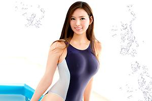 【なつき】全国出場2回、地方大会で入賞7回、美人すぎる水泳選手のエロボディ!