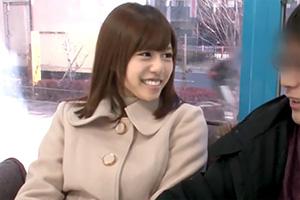 【瑠川リナ マジックミラー号】憧れの女優が逆ナンパ!「一緒に気持ちイイことしよ?」