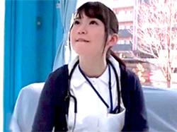マジックミラー号 新人看護師が膣内でイッた事がない男性を自分のマンコで治療してくれるwww