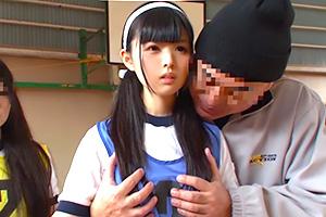 【宮沢ゆかり なごみ】時間を自由に操る男が女子校の球技大会に侵入して片っ端からレイプ!
