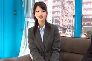 【マジックミラー号】憧れの美人上司と禁断のセックス!