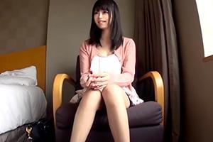 【素人】ぷるぷる超美乳の清楚系美少女とホテルでハメ撮り