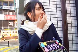 【ナンパTV】みのり 21歳。溝の口でGETしたコスプレカフェ店員が愛くるしい…の画像です
