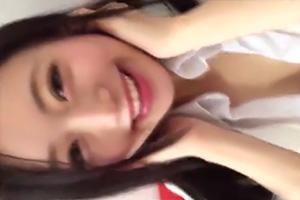 【個人撮影】これは羨ましい…色白の美少女JKと円光ハメ撮り