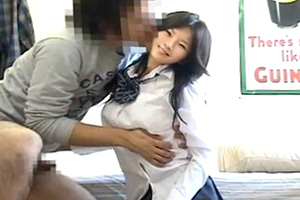 人見知り上品娘を下品責め JKとセックスの画像です