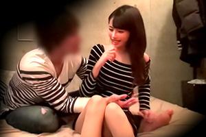 【盗撮】SNSで知り合った巨乳アパレル店員のセックス隠し撮り