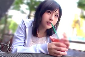 水城りの「ドキドキしてます…」AV女優に憧れる女子大生が上京セックス!
