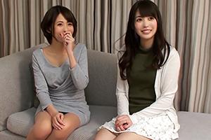 【舞ワイフ】夏目優希。両方モデル級!極上美人妻たちと夢の3P