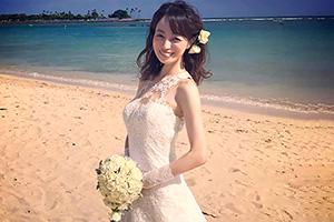 及川奈央 レジェンドAV女優の花嫁姿が可愛いぞwww