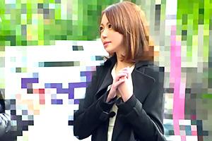 【人妻ナンパ】築地で見つけたレベルの高い若妻に真っ昼間から中出し敢行!