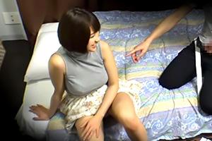 【盗撮】合コンで意気投合した爆乳ノースリーブ女子をお持ち帰りの画像です