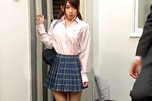 麻里梨夏 可愛いけど性格がクソな神待ちJKが自宅にやってきた!