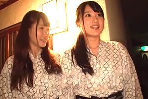 【素人】温泉旅行中の女子大生が中出し1発10万円の逆夜這い!
