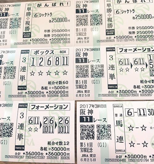 明日花キララが宝塚記念で226万勝負