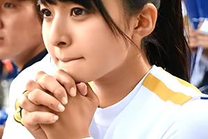 【ガチ】甲子園中継で話題になった可愛すぎるチアガールがAVデビュー!