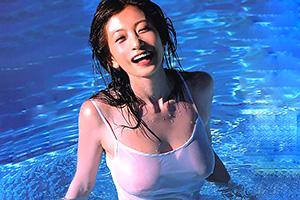 元シェイプUPガールズ 中島史恵(49)のスレンダー巨乳ヌードが即ハボwww