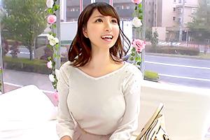 【マジックミラー号】インタビュー中の女子大生にデカチン即ハメ!