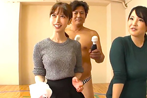 篠田ゆう これは恥ずかしい… プリ尻の人妻がアナル丸出しで雑巾掛け!