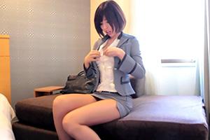 唯川みさき 美脚×タイトミニ×Tバックの長身秘書とホテルでハメ撮り