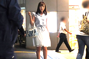 【素人】池袋駅で終電なくした美少女OLをナンパ!→ラブホ直行!