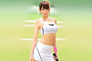 手塚ひかり なんてエロいカラダしてんだ…。県大会準優勝の実力者、8頭身GカップテニスプレイヤーがAVデビュー!