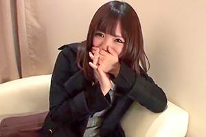 【ガチナンパ!】恥ずかしがり屋な童顔女子大生がマンコキでご奉仕