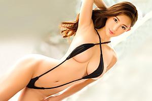 森川アンナ 完璧Gカップボディ。ハーフ痴女の騎乗位セックス