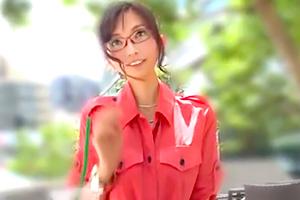 【人妻ナンパ】知的でエロい。美人キャリアウーマンを口説き落とす!