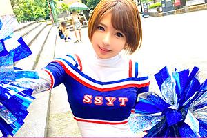 【ナンパTV】麻里梨夏 チアリーディングに青春を捧げる可愛い女子大生の画像です