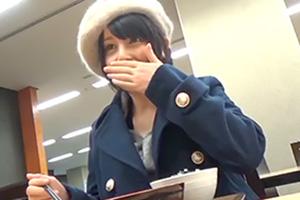 【バイトちゃん 恵麻】ミスコン特別賞の美少女女子大生とコスプレSEX!
