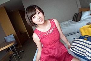 渋谷でナンパした赤ワンピが可愛い美乳イラストレーター(21)とのSEX動画