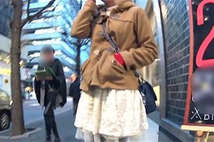【ナンパ in 表参道】コートの下に超絶美巨乳を隠してた法学部生