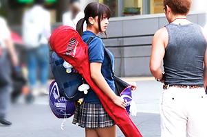 【ナンパ】部活帰り!青春の匂い漂う美少女ラクロス部とカーセックス!
