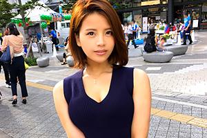 【ナンパTV】東京スカイツリーで見つけたセクシー系バー勤務のお姉さん