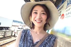 久保今日子 鎌倉で出会った微笑み美人。可愛すぎる43歳人妻とハメ撮り