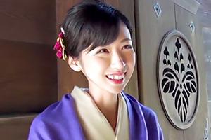 三浦翔子 和服姿が美しい人妻。ベッドの上では・・・