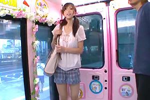 【マジックミラー号】笑顔が可愛い19歳の予備校生が乗車!